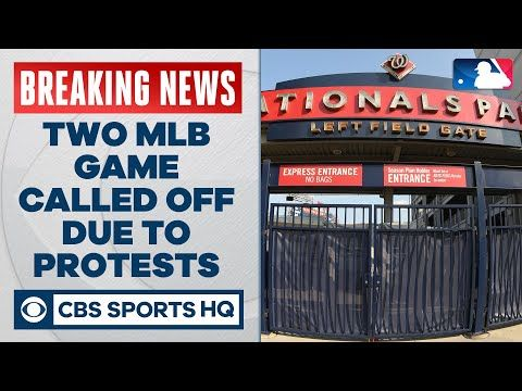 Phillies Nationals A S Rangers Postponed As Protest To Jacob Blake Shooting Cbs Sports Hq Wednesday Night Three Major League Basebal Cbs Sports Phillies Cbs