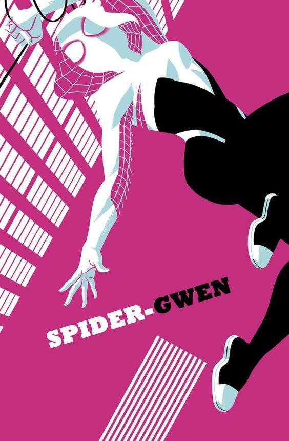 Spider-Gwen #5//Michael Cho/C/ Comic Art Community GALLERY OF COMIC ART