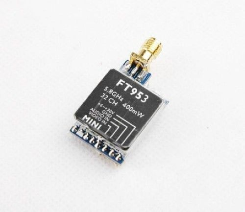 FT953 5.8G 32CH 400mW Mini Transimitter TX FPV for RC Multicopter | Drone Uprising Co