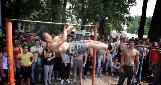Street Workout in Ukraine (Clip) > Sports, Streetstyle > street workout, workout
