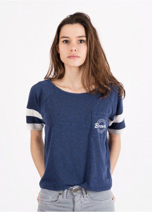 Camiseta manga corta Franja