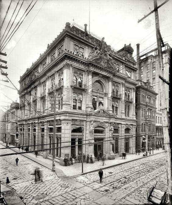 Cotton Exchange New Orleans 1900 Such Architecture