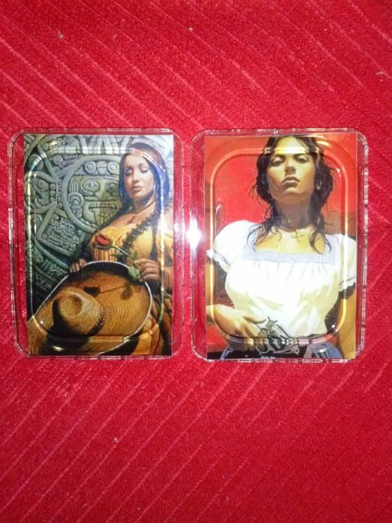 Check out this item in my Etsy shop https://www.etsy.com/listing/227642588/women-of-guerra-resin-photo-magnet-set2
