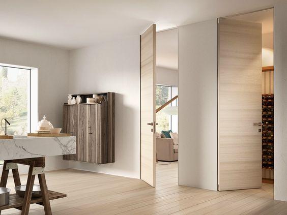 Puerta lacada de madera BIVERSO by GAROFOLI