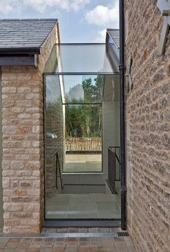 Contemporary barn conversion - contemporary - Exterior - London - Studio Mark Ruthven: