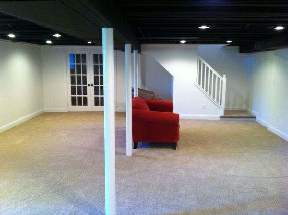 low ceilings in basement keeping you from finishing paint