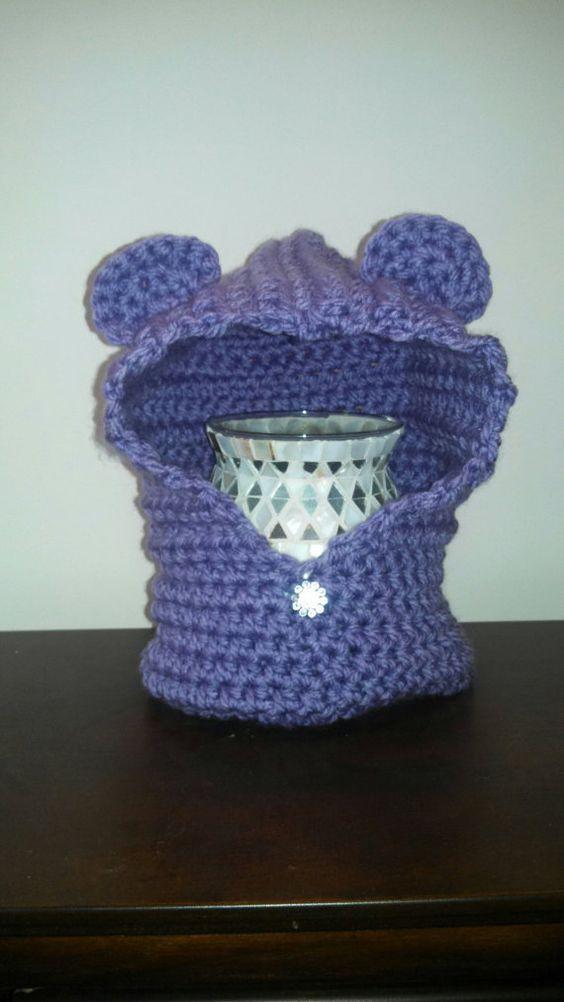 Crochet Hooded Bear Cowl. Bailey bear hooded cowl