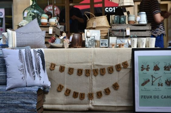 Decorator's Notebook pop up at The Frome Independent Market