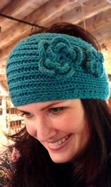 Knit Headband Pattern Ravelry : Hip Knitted Headband pattern by Knotty Knitter Designs ...