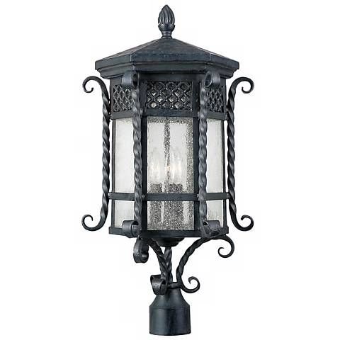 Scottsdale Collection 25 1 2 High Outdoor Post Mount 78023