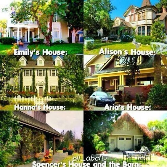 Pretty little liars little liars and pretty little on for Pretty small houses