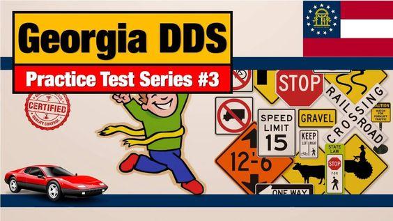 Drivers license GA: Georgia DDS Practice Test Series #3