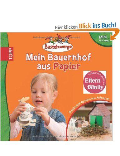 Bastelzwerge Midi - Mein Bauernhof aus Papier: Amazon.de: Sandra Grimm, Claudia Guther: Bücher