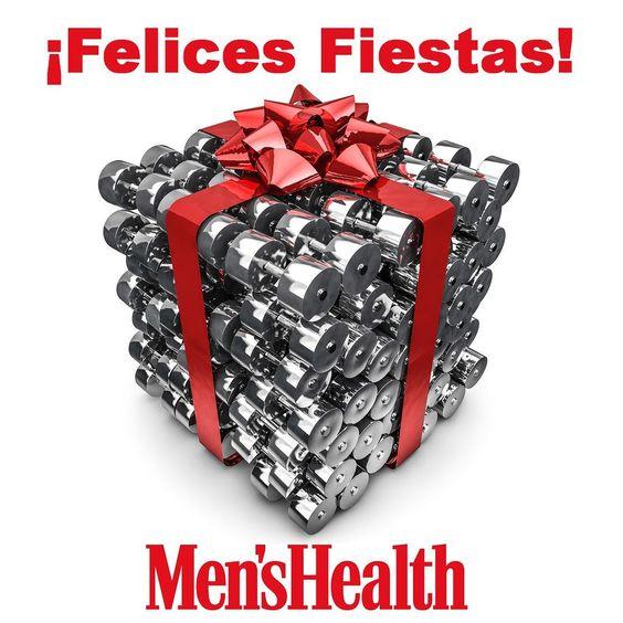 Desde Men's Health te deseamos unas Felices Fiestas. Cuidado con los excesos y las comilonas. Y la próxima semana a quemarlo todo en el gym!!! #menshealthesp #yosoyMH