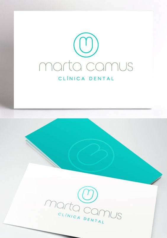 Nuevo logotipo para marta camus una cl nica dental for Clinica dental el escorial