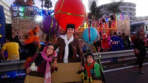 My family in carnavales