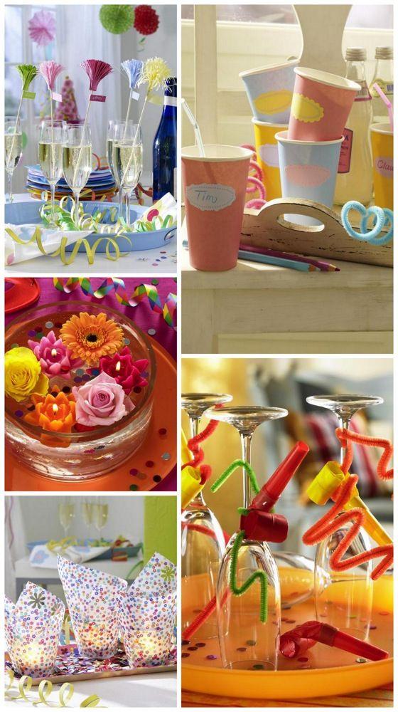 Festa de carnaval em casa - Decoração