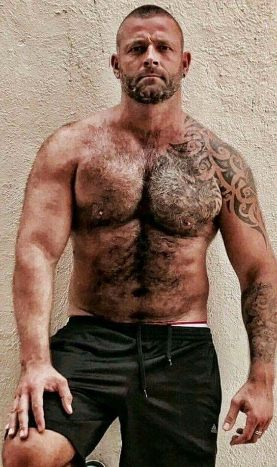 Pin By Kelly On Hairy Scruffy Men Shirtless Men Hairy Chested Men