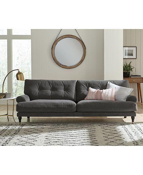 Brenata fabric armchair