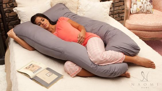 Pregnancy Sleeping Pillow – Amazing Naomi Home U Shaped Body Pillow