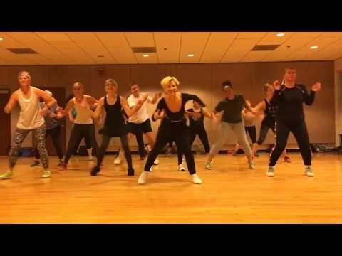 On The Floor Jennifer Lopez Dance Fitness Workout Valeo Club Dance Workout Routine Zumba Workout Zumba Routines