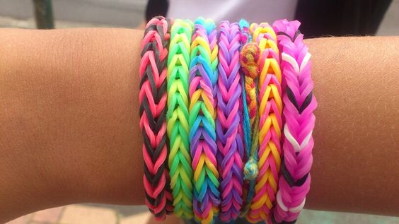 Rainbow looms fishtail