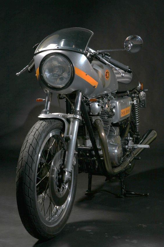 Yamaha XS 650 #cafe #motorcycle #moto
