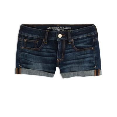 Dark Denim Shorts | Dark denim, Dark and American eagle outfitters