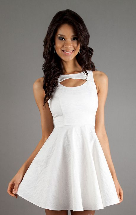 WhiteAzalea Cocktail Dresses: Simple Yet Elegant White Cocktail ...