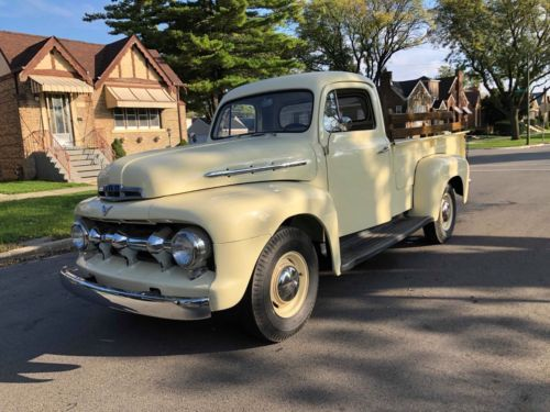 1951 Ford F2 Long Bed Pickup Truck Old Trucks For Sale Vintage