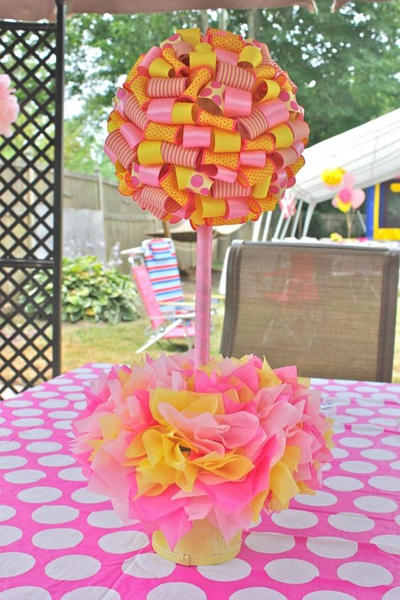 The o jays topiaries and pink lemonade party on pinterest