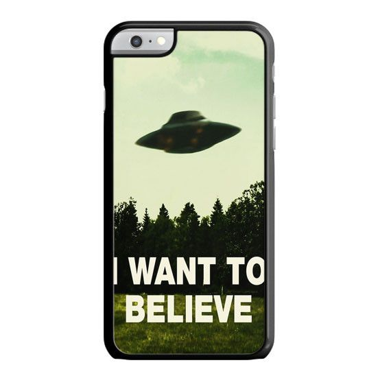 I Want To Believe Ufo Aliens iPhone 6 Case