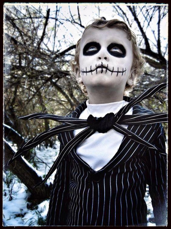 Amazing Jack Skellington Costume for a Boy... Coolest Halloween Costume Contest: