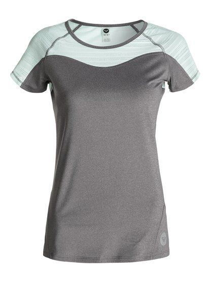 roxy, Double Time Short sleeve, Highrise-h (sgrh)