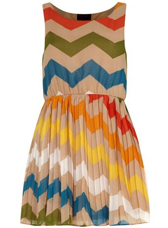 Zig Zag pleat dress - View All  - Dresses