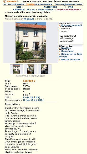 Clo vend sa maison Pièce pour savourer CloVendSaMaison Pinterest