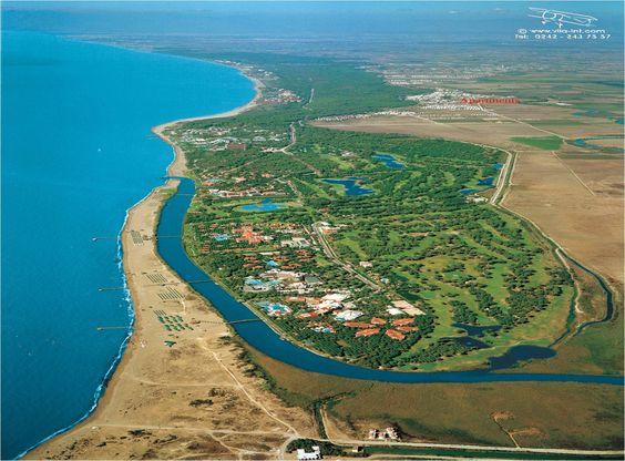 Belek golfcenter, 17 banor och >50 flotta hotell
