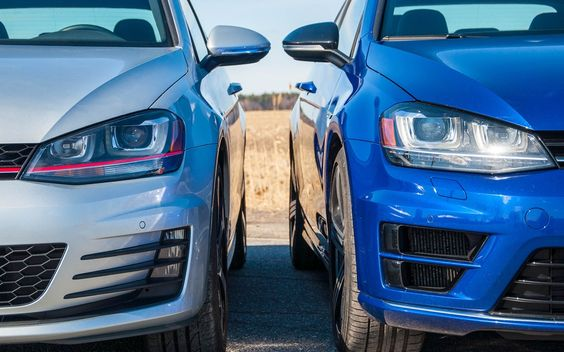 Galerie de photos « Volkswagen Golf GTI ou Golf R: la question à 500 $ », photo 1/30: Volkswagen Golf GTI VS Golf R