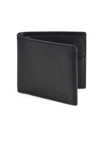 COACH - Leather Bifold Wallet