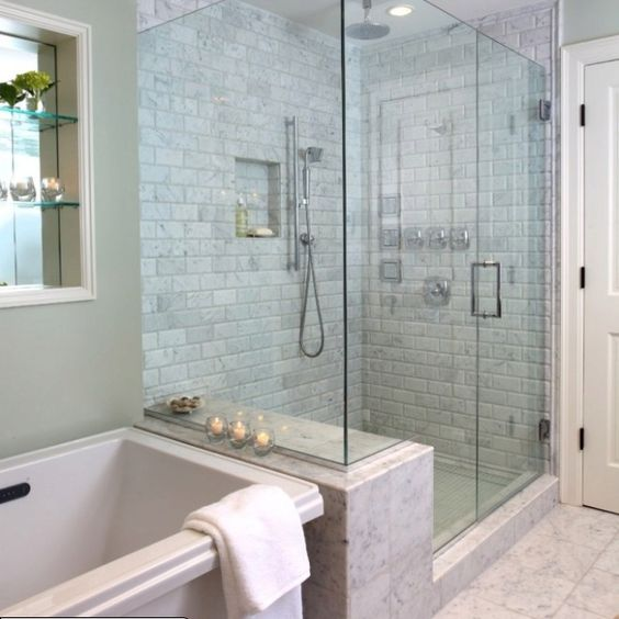 houzz bathrooms   Via Jennifer Riker(CraftyItalian)   Bathroom ...