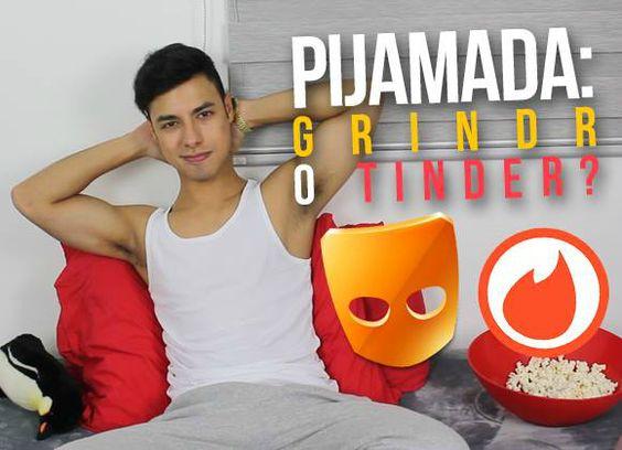 VIDEO · Alan Cajaroja · Pijamada, ¿Grindr o Tinder?