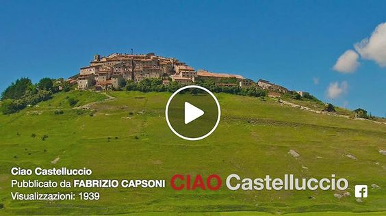 Castelluccio di Norcia, video