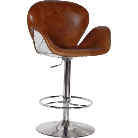 This bar stool is a mix of retro and modern