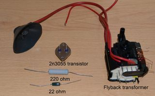 Flyback Transformer Driver For Beginners Transformers