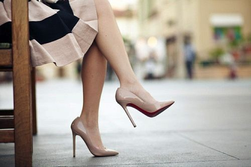 points for spring: Handbags Shoes, Dream Closet, Nude Heels, Women, Lovely Outfits, Red Bottom, My Style