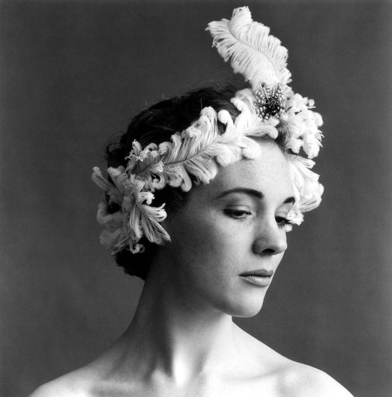 Julie Andrews by Cecil Beaton.