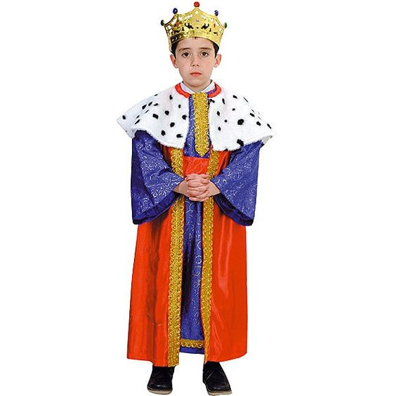 Disfraz de Rey Mago #infantil #disfraces