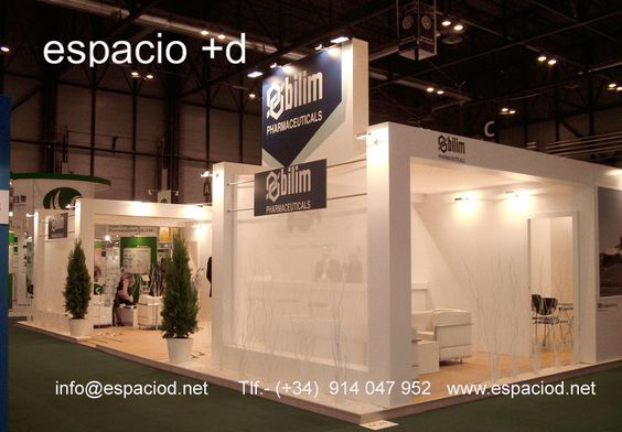 Diseño y Construcción de stand para firma turca- Bilim Pharmaceuticals – CPhI Worldwide Madrid. Ifema www.espaciod.net info@espaciod.net (+34)914047952