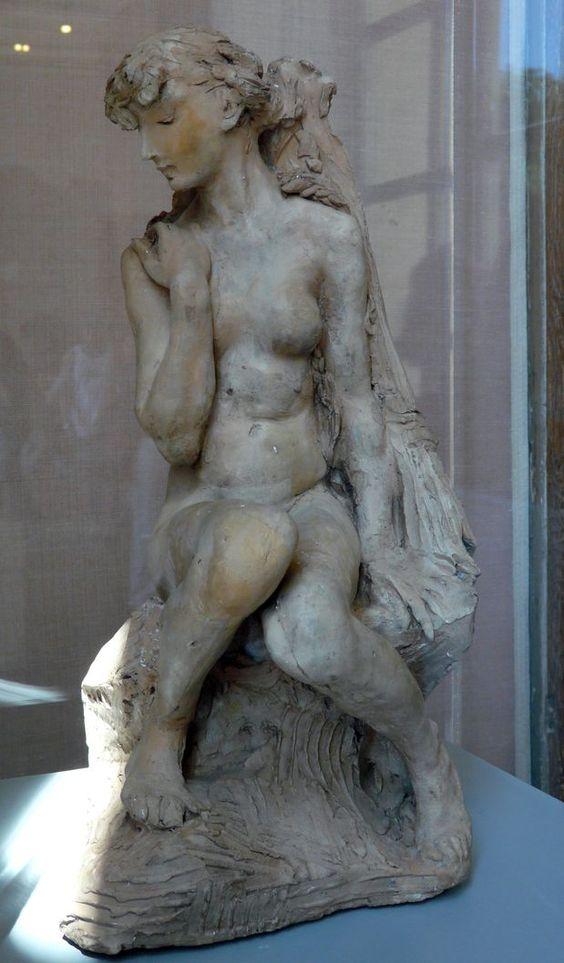 Camille Claudel (1864-1943) - Jeune fille à la gerbe - 1886. Musée Rodin - Paris: