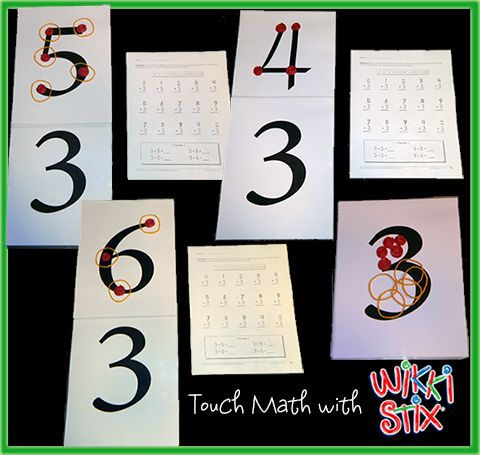 Touch Math Multiplication Touch Math Teaching Multiplication Math Multiplication